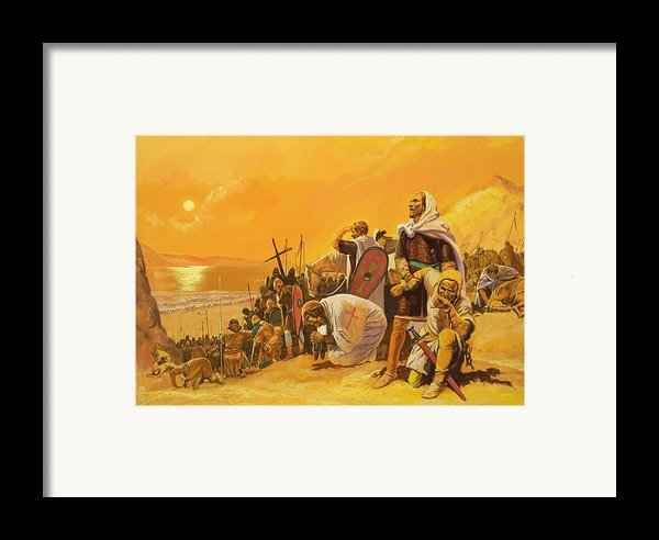 The Crusades Framed Print By Gerry Embleton