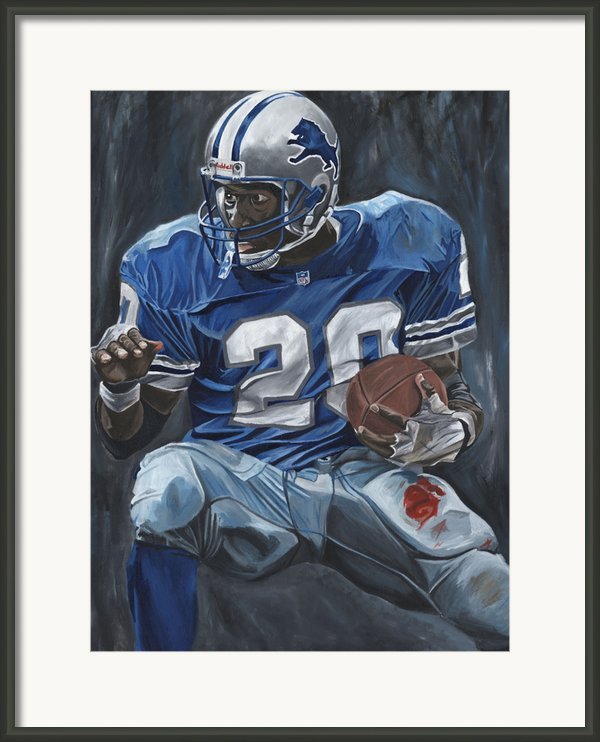 The Cutback Framed Print By David Courson