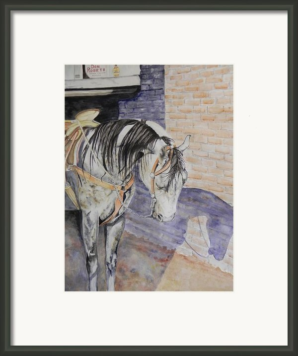The Don Framed Print By Dee Elliott