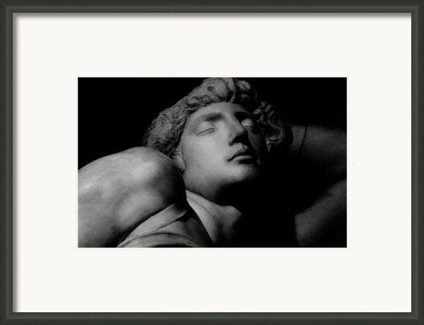 The Dying Slave Framed Print By Michelangelo Buonarroti