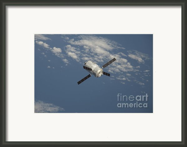 The Edoardo Amaldi Automated Transfer Framed Print By Stocktrek Images