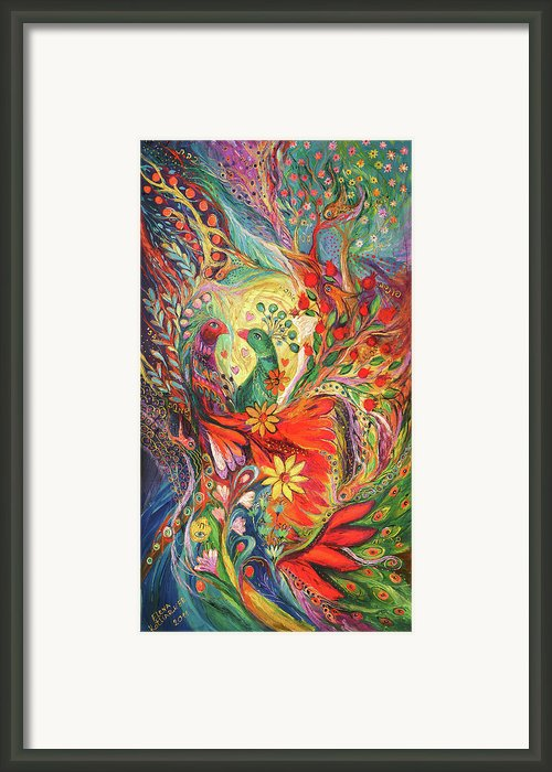 The Flowers And Fruits Framed Print By Elena Kotliarker