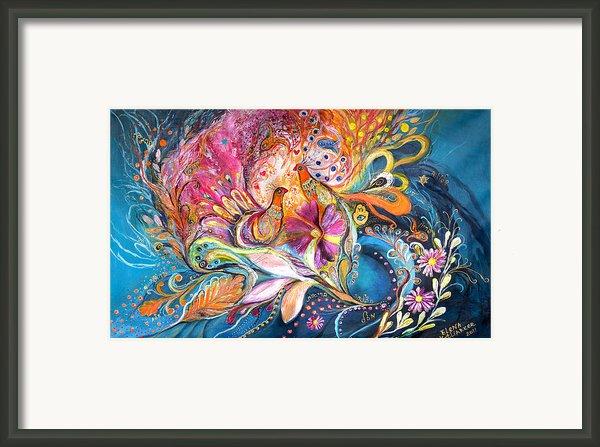 The Flowers Of Sea Framed Print By Elena Kotliarker