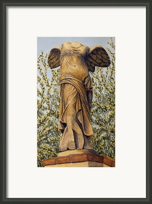 The Guardian Framed Print By Deborah Irish