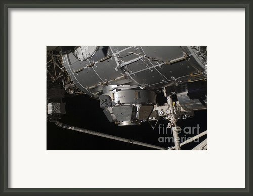 The International Space Stations Framed Print By Stocktrek Images