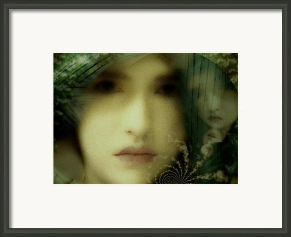 The Many Faces Of Eve Framed Print By Gun Legler