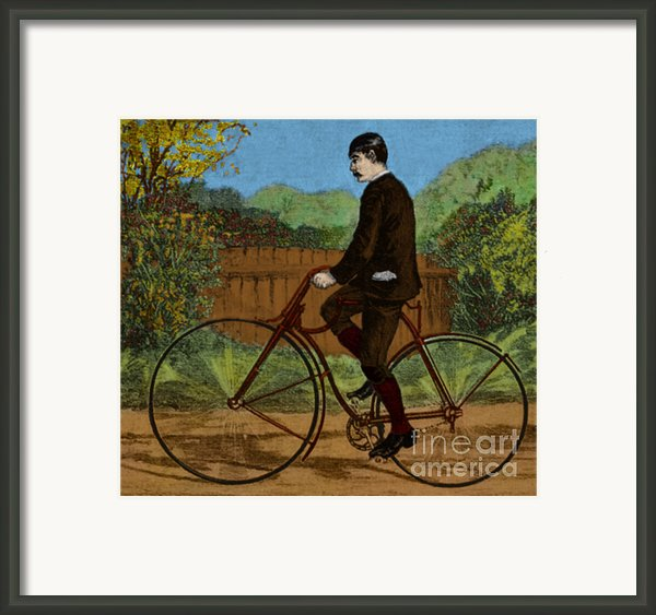 The Rover Bicycle Framed Print By Science Source