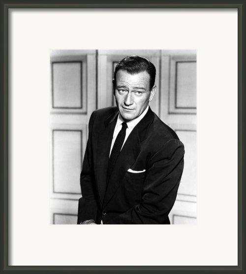 The Searchers, John Wayne, 1956 Framed Print By Everett