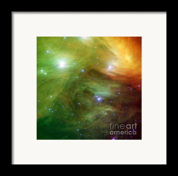 The Seven Sisters, Also Known Framed Print By Stocktrek Images