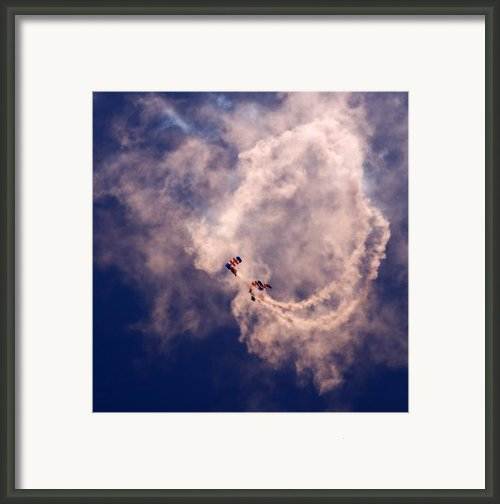 The Swirl Framed Print By Angel  Tarantella