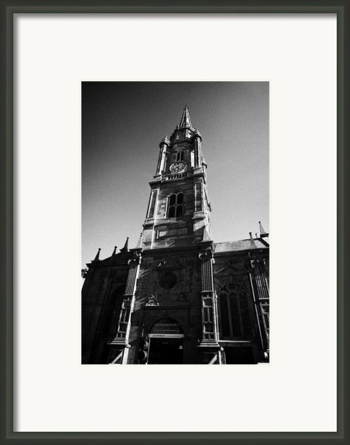 The Tron Church Edinburgh Scotland Uk United Kingdom Framed Print By Joe Fox