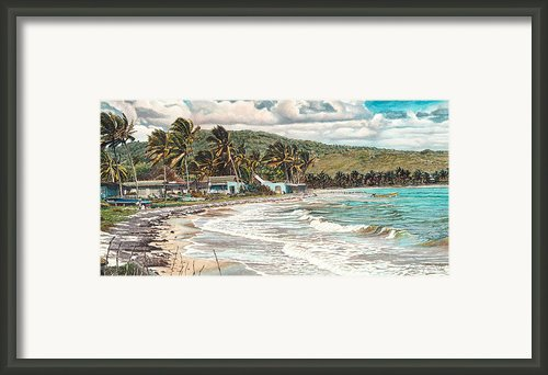 The Water Front   Framed Print By Gregory Jules