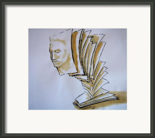 Theory Framed Print By Paulo Zerbato