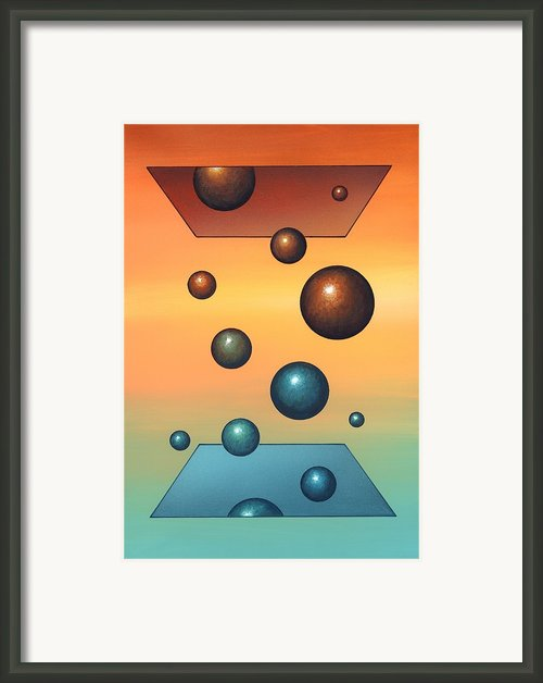 Thermodynamics, Conceptual Artwork Framed Print By Richard Bizley
