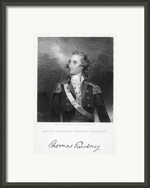 Thomas Pinckney (1750-1828) Framed Print By Granger