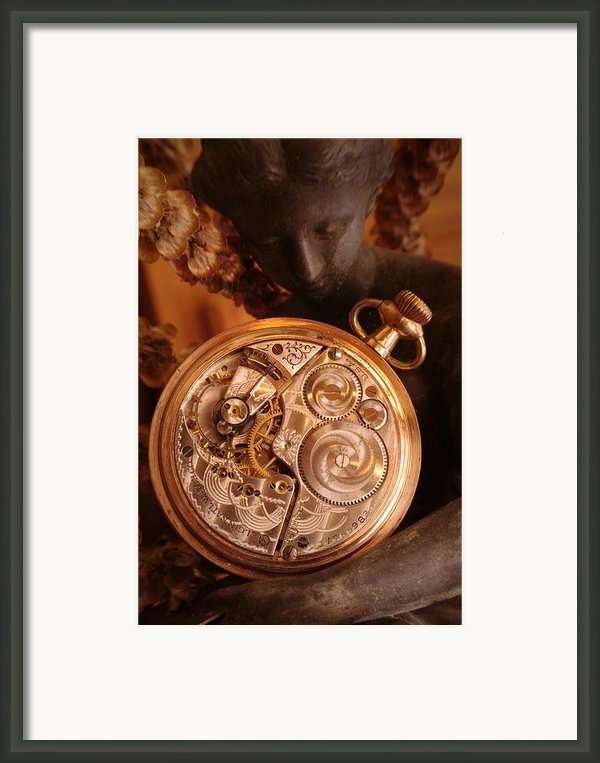 Time... Framed Print By Arthur Miller