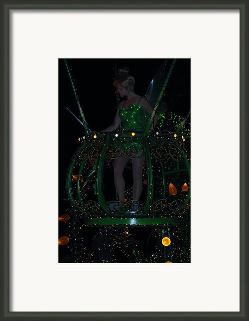 Tinker Bell Framed Print By Rob Hans