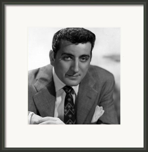 Tony Bennett, C. 1952 Framed Print By Everett