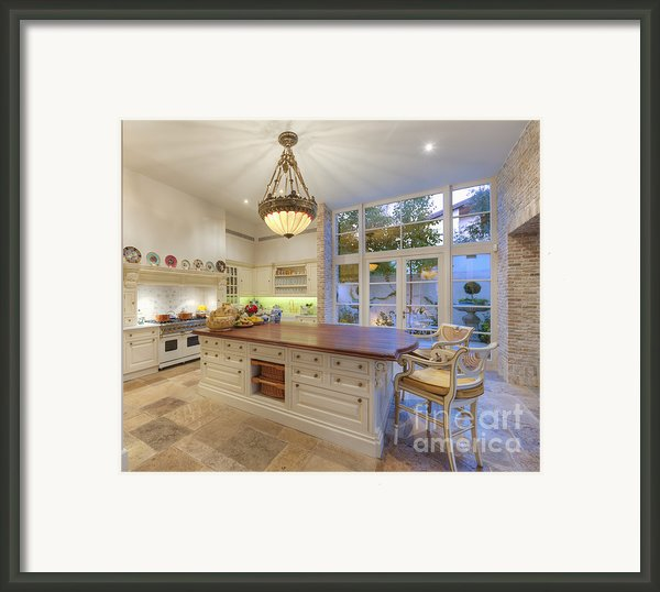 Upscale Kitchen Framed Print By Noam Armonn