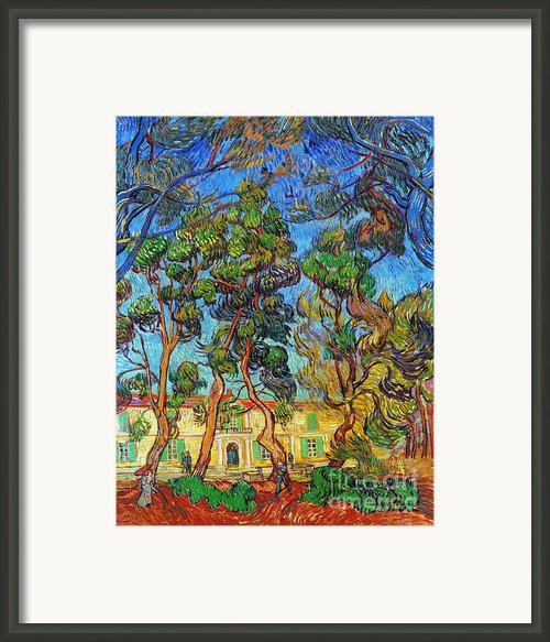 Van Gogh: Hospital, 1889 Framed Print By Granger