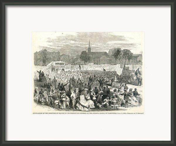 Washington: Abolition, 1866 Framed Print By Granger