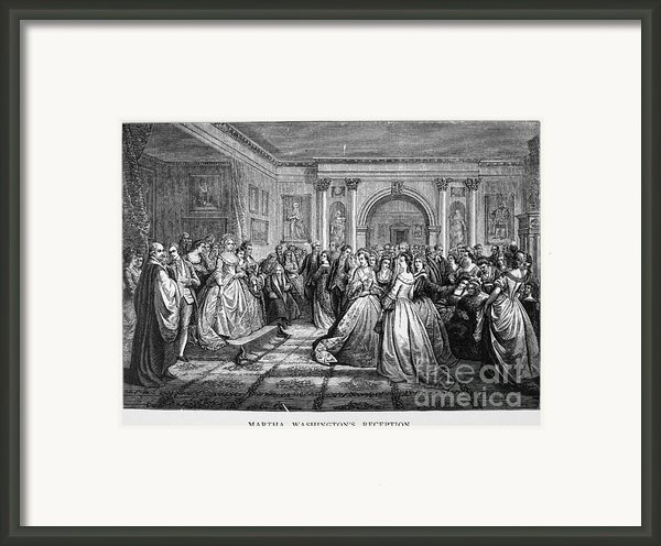 Washington Reception Framed Print By Granger