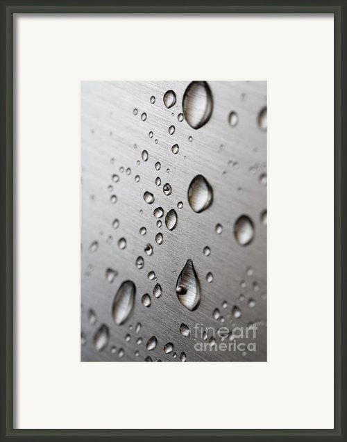 Water Drops Framed Print By Frank Tschakert