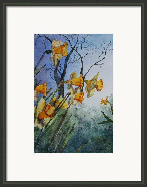 Welcome Springtime Framed Print By Patsy Sharpe