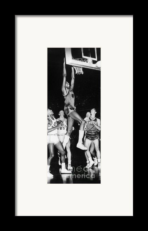 Wilt Chamberlain (1936-1999) Framed Print By Granger