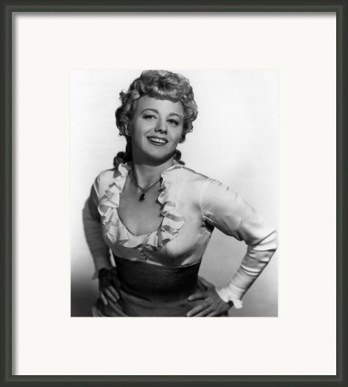 Winchester 73, Shelley Winters, 1950 Framed Print By Everett