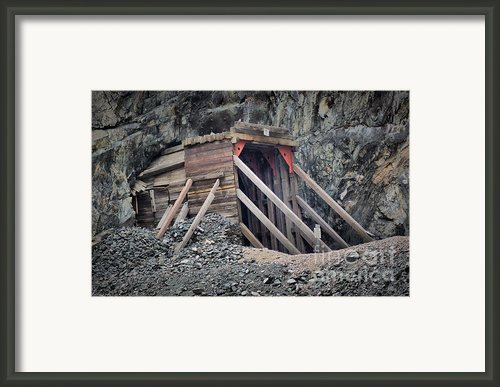 Wind River Tunnel  Framed Print By Nena Trapp