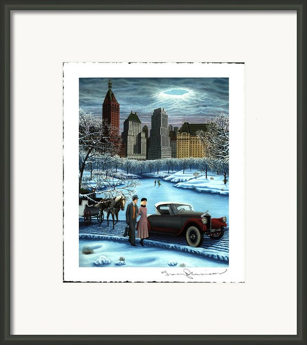 Winter Wonderland Framed Print By Tracy Dennison