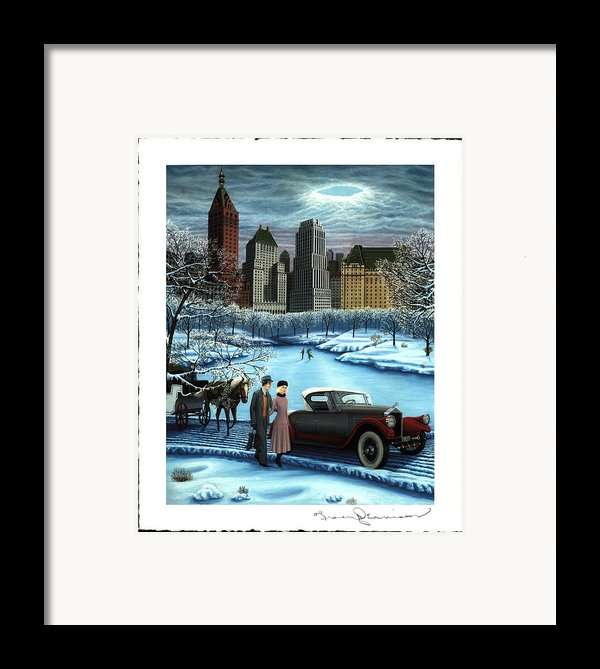 Winter Wonderland Framed Print By Tracy Dennison