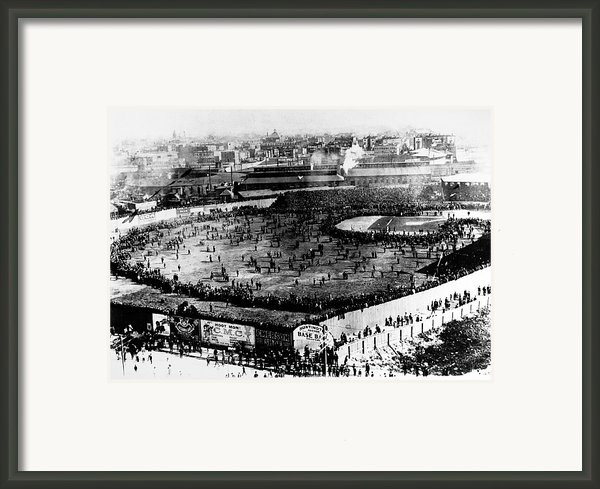 World Series, 1903 Framed Print By Granger