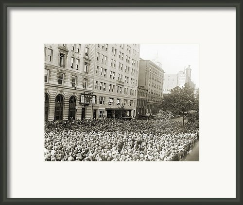 World Series, 1925 Framed Print By Granger