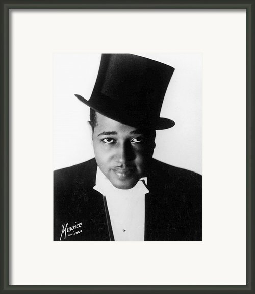 Duke Ellington (1899-1974) Framed Print By Granger