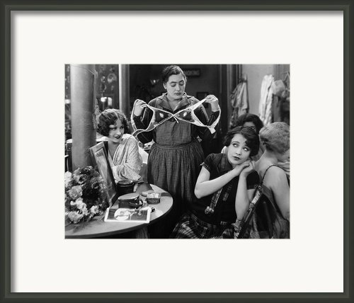 Silent Still: Showgirls Framed Print By Granger