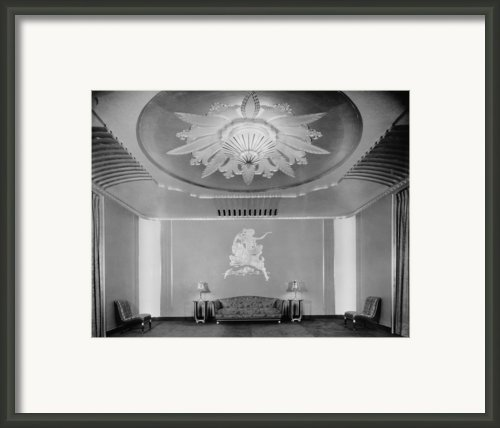 Movie Theaters, The Paramount Theatre Framed Print By Everett