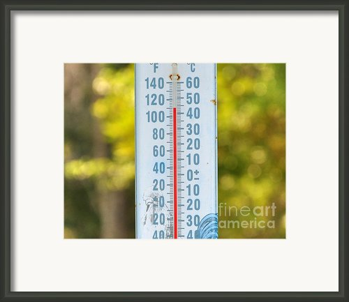 110 Degrees In The Shade Framed Print By Al Powell Photography Usa