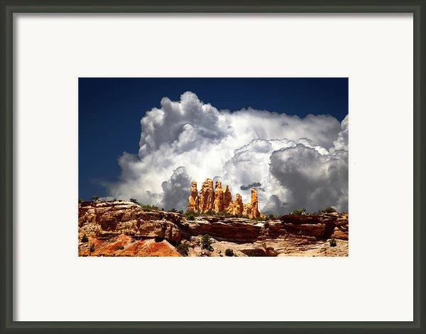 San Rafael Swell Framed Print By Mark Smith