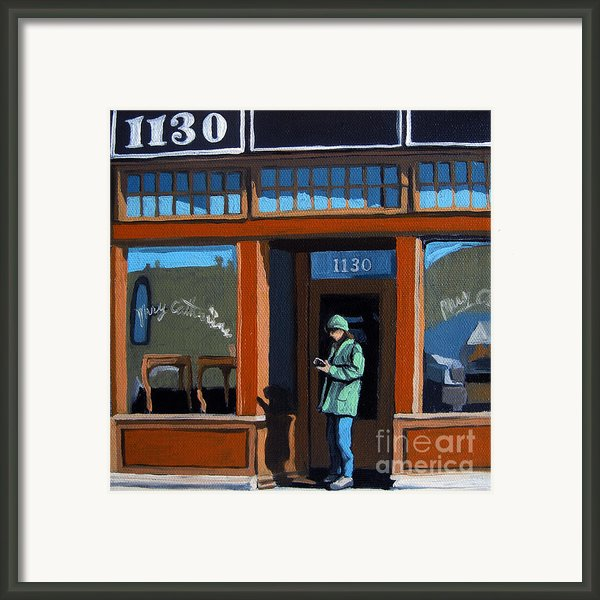 1130 High St. Framed Print By Linda Apple