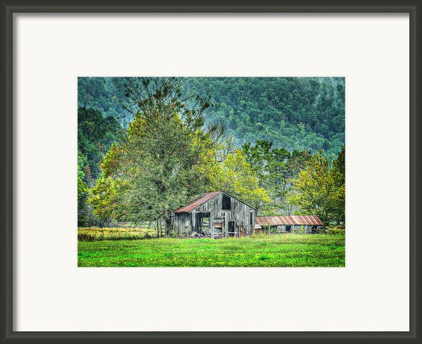 1209-1298 - Boxley Valley Barn 2 Framed Print By Randy Forrester