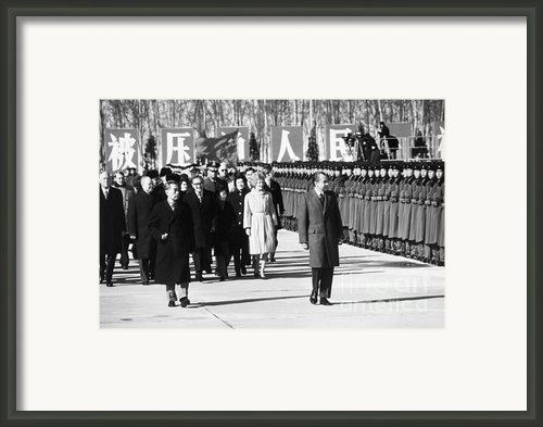Richard Nixon (1913-1994) Framed Print By Granger
