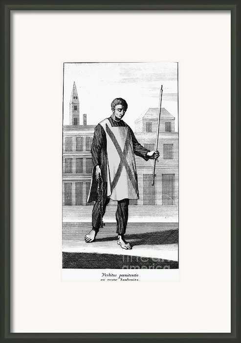 Spanish Inquisition Framed Print By Granger