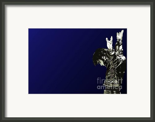 135. Return Of The King Framed Print By Tam Hazlewood