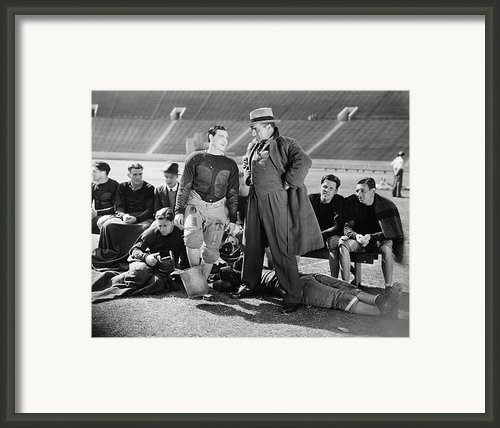 Silent Film Still: Sports Framed Print By Granger