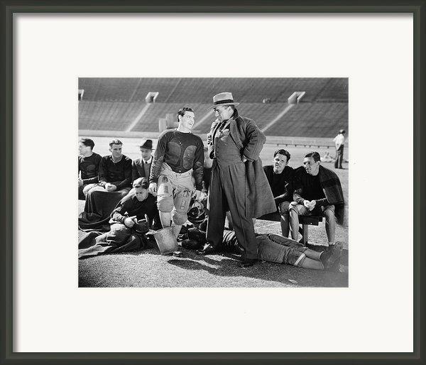 Silent Film Still: Sports Framed Print By Granger