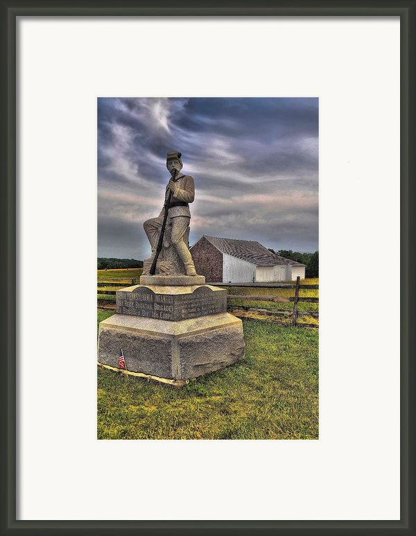 149th Pennsylvania Infantry Framed Print By Dave Sandt