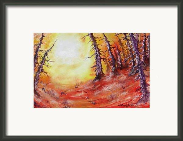 16 Trees Framed Print By Joseph Palotas