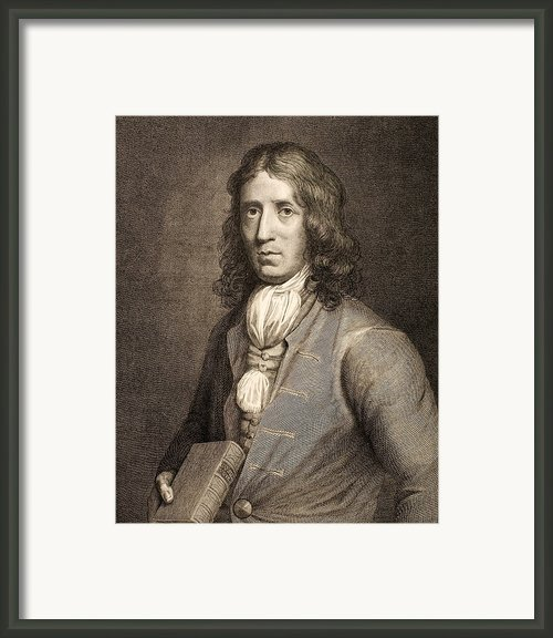 1698 William Dampier Pirate Naturalist Framed Print By Paul D Stewart